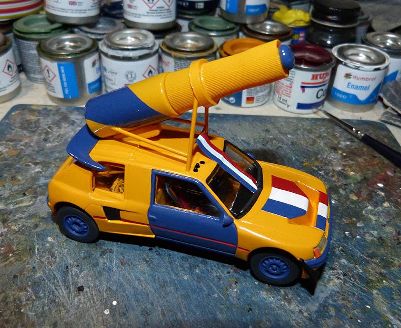 "205 Peugeot 1/43 Rallye ""la Colleuse"" - Challenge HF 4 ans  Peugeo48"
