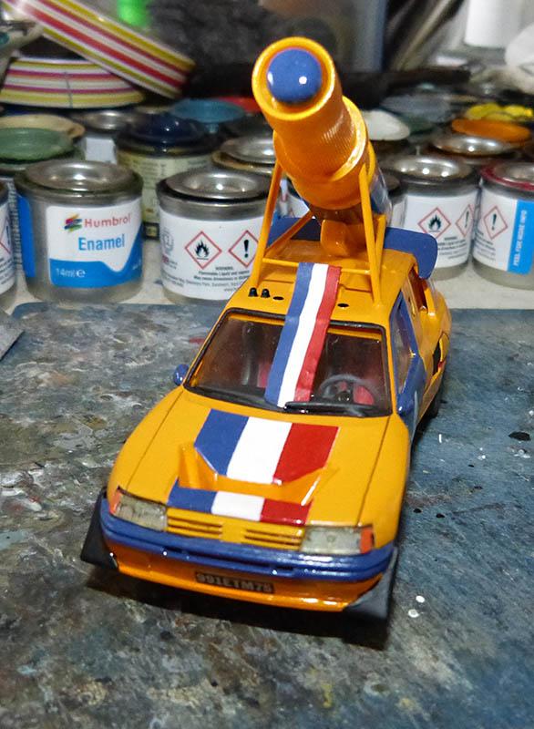 "205 Peugeot 1/43 Rallye ""la Colleuse"" - Challenge HF 4 ans  Peugeo55"