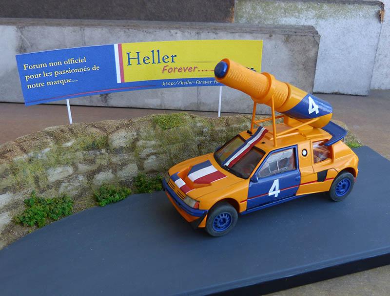 "205 Peugeot 1/43 Rallye ""la Colleuse"" - Challenge HF 4 ans  Peugeo57"