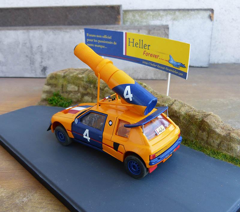 "205 Peugeot 1/43 Rallye ""la Colleuse"" - Challenge HF 4 ans  Peugeo58"