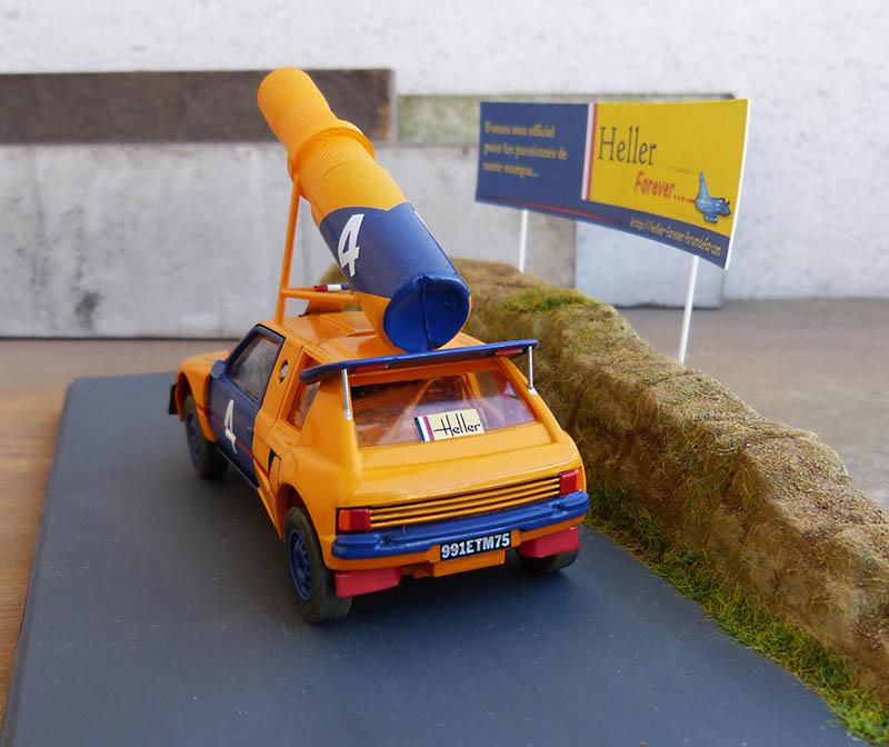 "205 Peugeot 1/43 Rallye ""la Colleuse"" - Challenge HF 4 ans  Peugeo59"