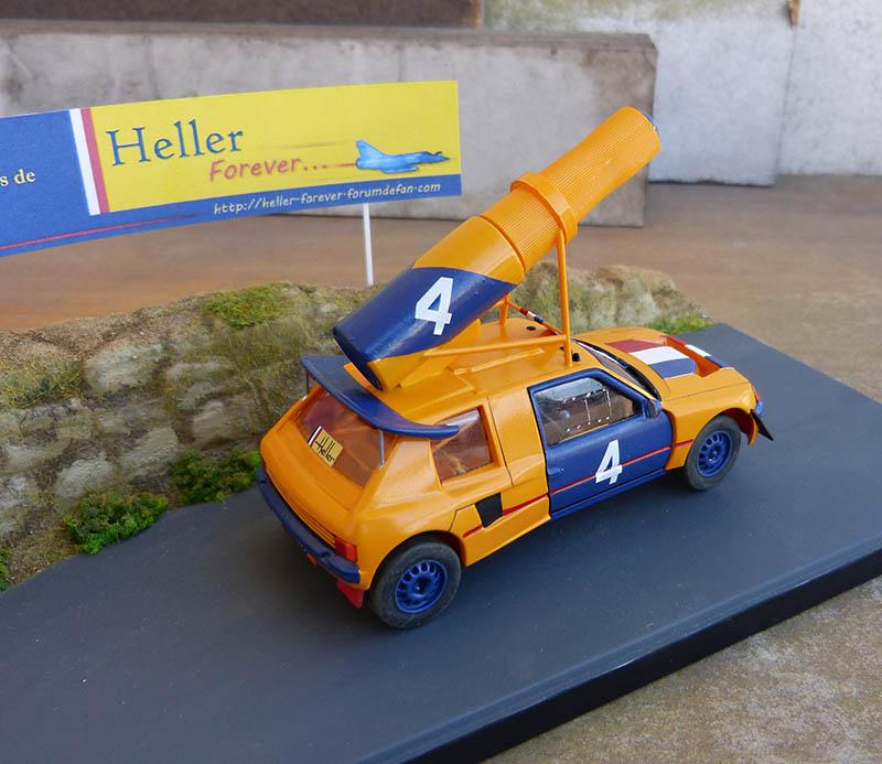 "205 Peugeot 1/43 Rallye ""la Colleuse"" - Challenge HF 4 ans  Peugeo61"