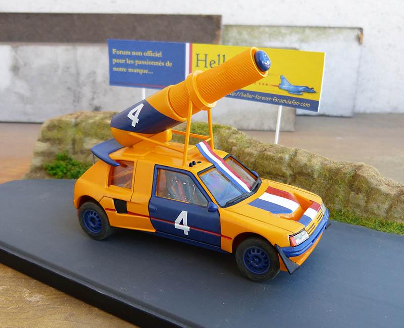 "205 Peugeot 1/43 Rallye ""la Colleuse"" - Challenge HF 4 ans  Peugeo63"