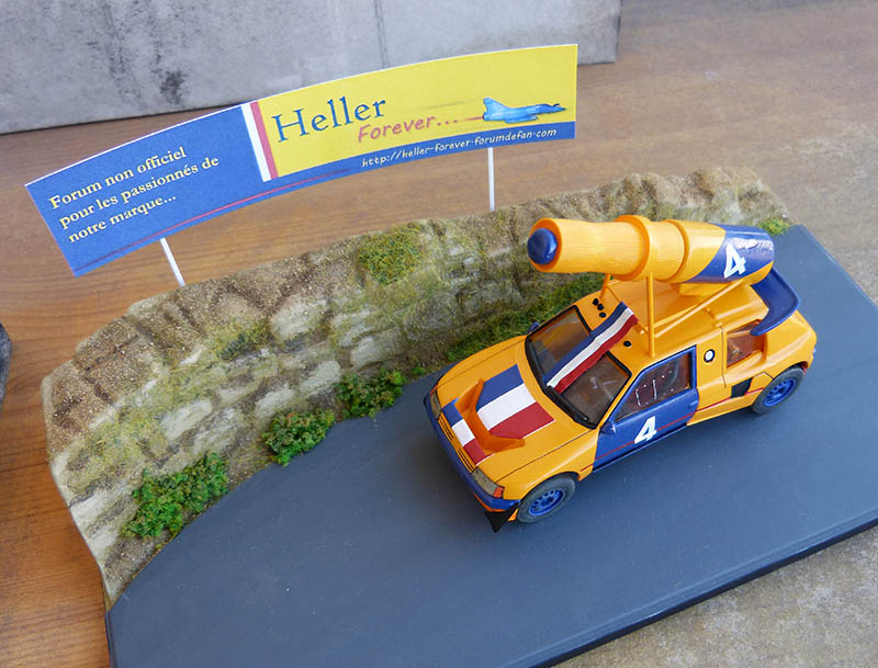 "205 Peugeot 1/43 Rallye ""la Colleuse"" - Challenge HF 4 ans  Peugeo65"