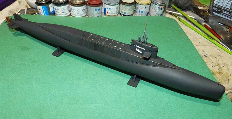 Sous-marin nucléaire  lanceurs d engins SNLE Le REDOUTABLE Réf ? Redout11