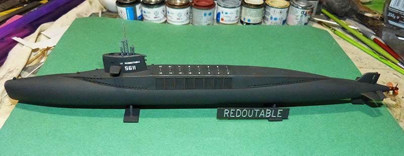 Sous-marin nucléaire  lanceurs d engins SNLE Le REDOUTABLE Réf ? Redout14