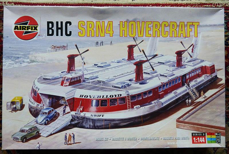 Fil rouge 2019 : BHC SRN4 Hovercraft - (Airfix 1/144). Srn4_010