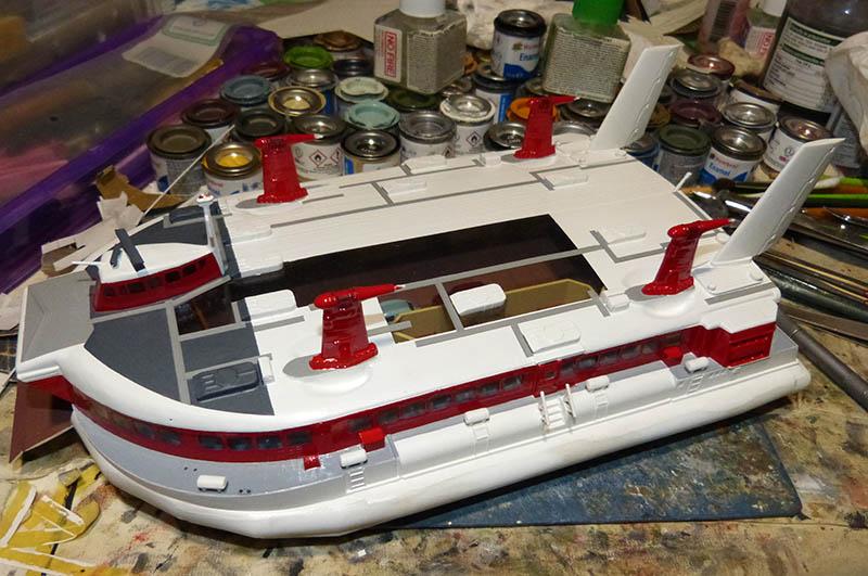 Fil rouge 2019 : BHC SRN4 Hovercraft - (Airfix 1/144) - Terminé en pg 4 - Page 4 Srn4_123