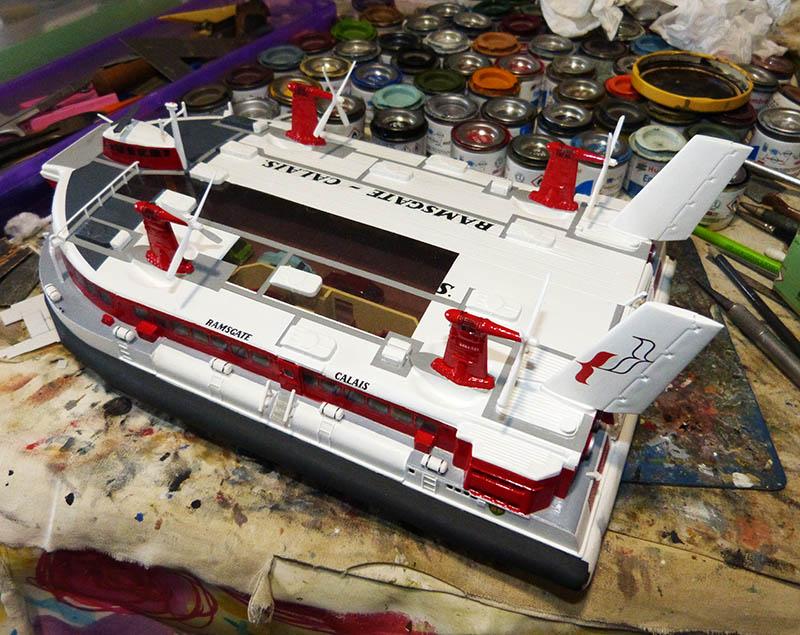 Fil rouge 2019 : BHC SRN4 Hovercraft - (Airfix 1/144) - Terminé en pg 4 - Page 4 Srn4_135