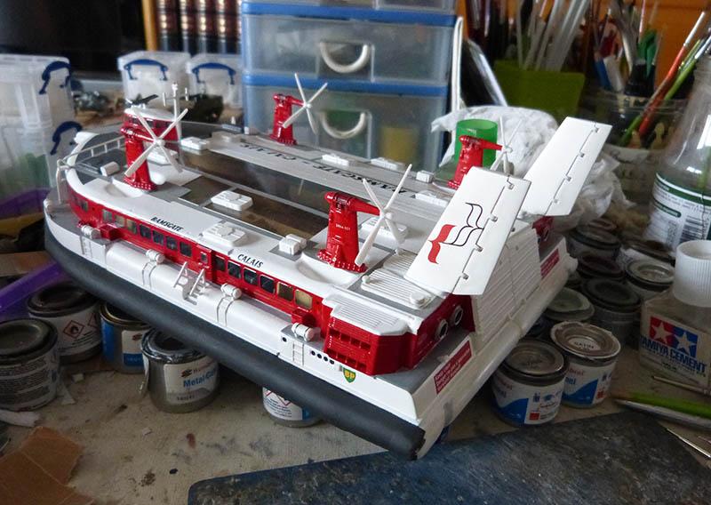 Fil rouge 2019 : BHC SRN4 Hovercraft - (Airfix 1/144) - Terminé en pg 4 - Page 4 Srn4_139