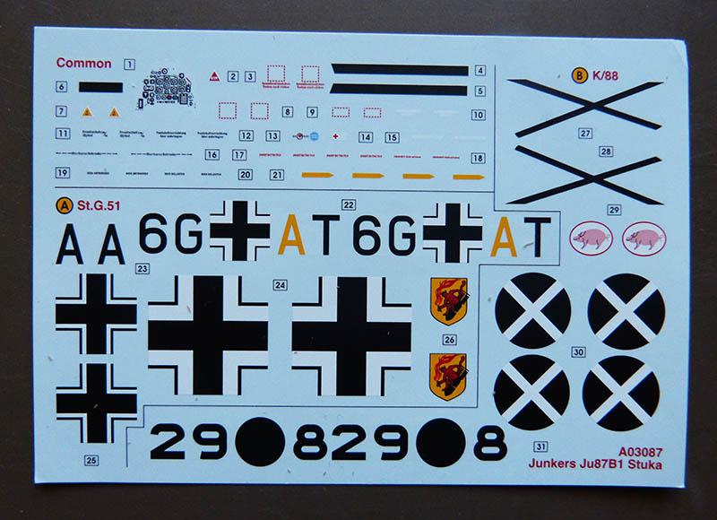 "(Airfix) Junkers 87 B Stuka ""Légion Condor"". Stuka014"