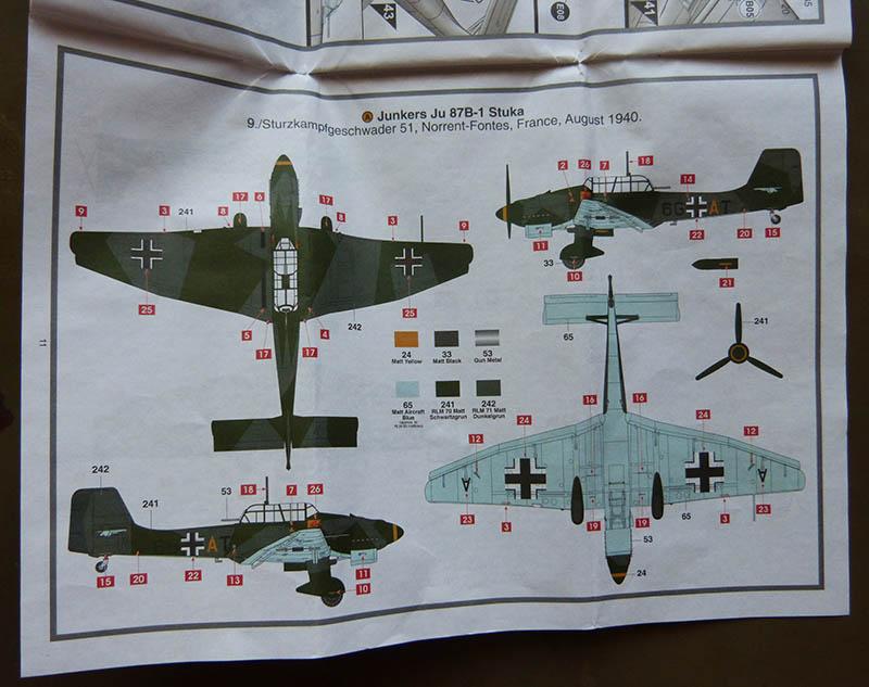 "(Airfix) Junkers 87 B Stuka ""Légion Condor"". Stuka016"