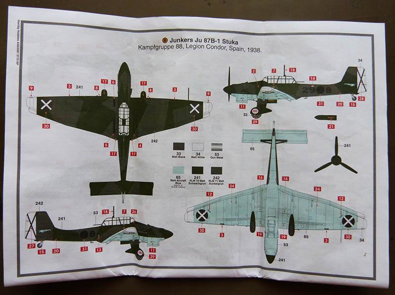 "(Airfix) Junkers 87 B Stuka ""Légion Condor"". Stuka017"
