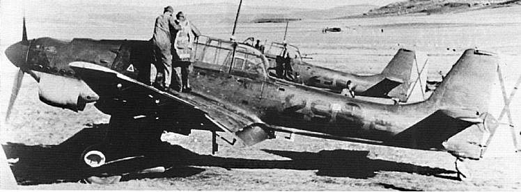 "(Airfix) Junkers 87 B Stuka ""Légion Condor"". Stuka018"