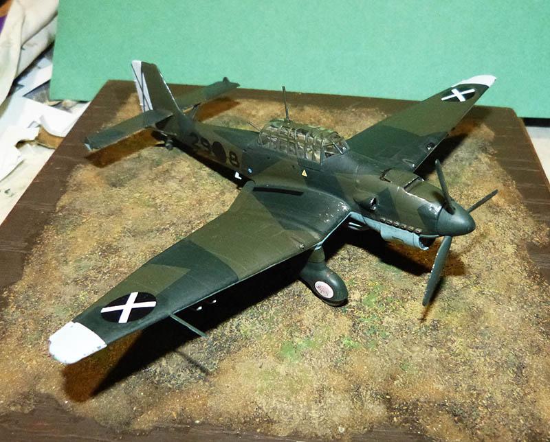"(Airfix) Junkers 87 B Stuka ""Légion Condor"". - Page 2 Stuka121"
