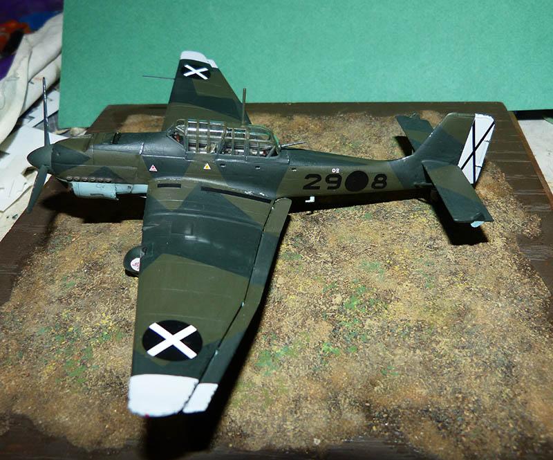 "(Airfix) Junkers 87 B Stuka ""Légion Condor"". - Page 2 Stuka124"