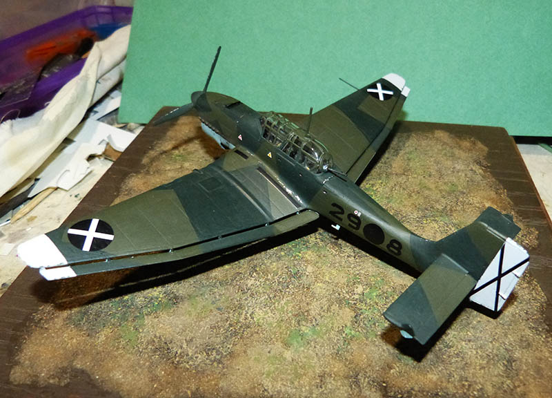 "(Airfix) Junkers 87 B Stuka ""Légion Condor"". - Page 2 Stuka125"