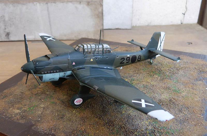 "(Airfix) Junkers 87 B Stuka ""Légion Condor"". - Page 2 Stuka128"