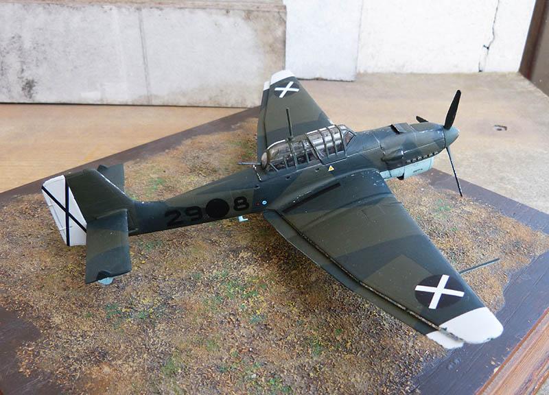 "(Airfix) Junkers 87 B Stuka ""Légion Condor"". - Page 2 Stuka131"