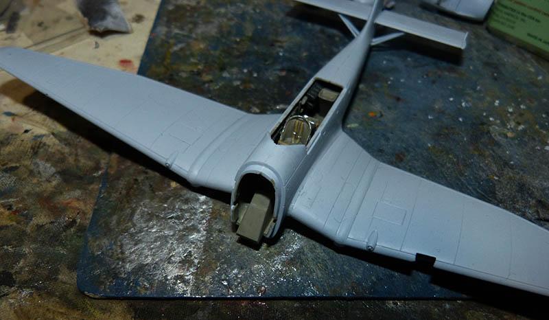 "(Airfix) Junkers 87 B Stuka ""Légion Condor"". Stuka411"