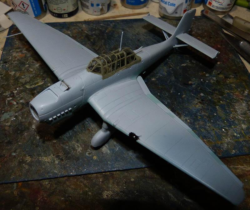"(Airfix) Junkers 87 B Stuka ""Légion Condor"". Stuka717"