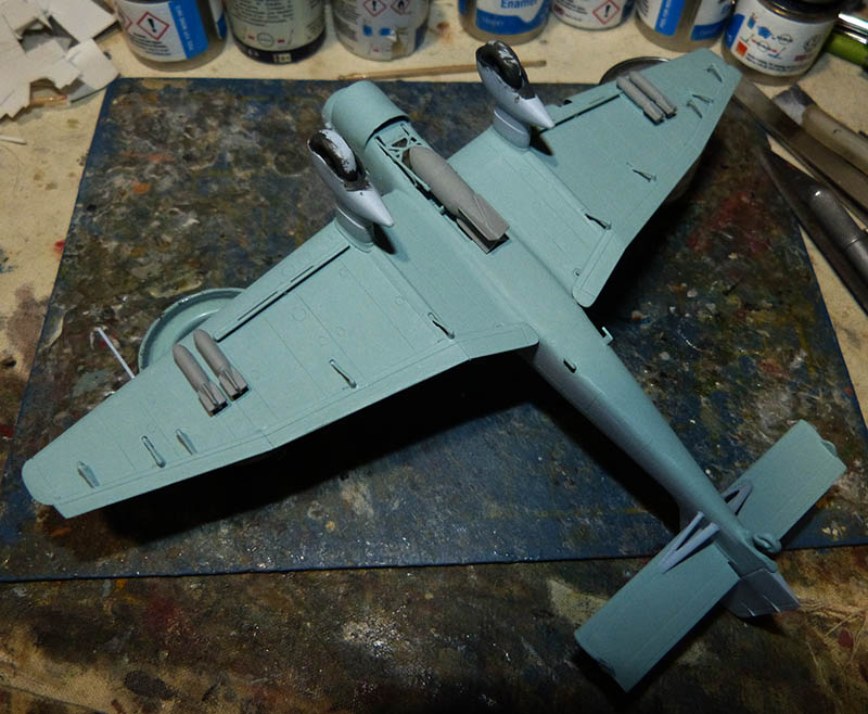 "(Airfix) Junkers 87 B Stuka ""Légion Condor"". Stuka718"