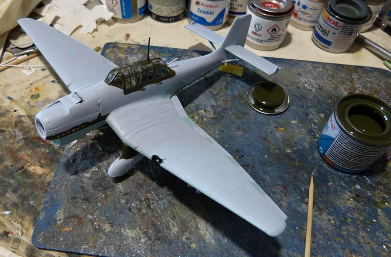 "(Airfix) Junkers 87 B Stuka ""Légion Condor"". Stuka810"