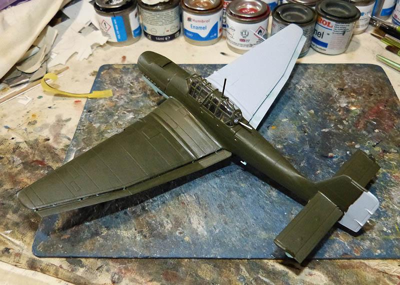 "(Airfix) Junkers 87 B Stuka ""Légion Condor"". Stuka812"