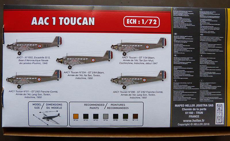 ACC 1 TOUCAN 1/72ème Réf 80359 Toucan11