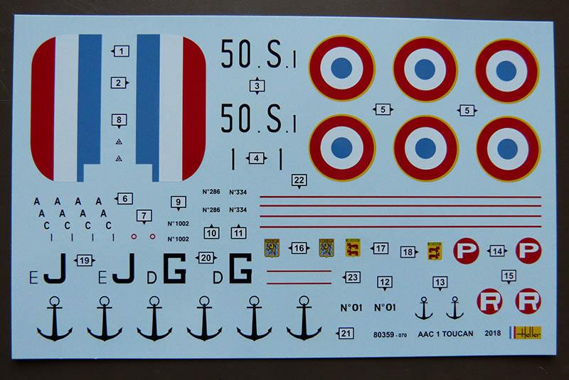 ACC 1 TOUCAN 1/72ème Réf 80359 Toucan16