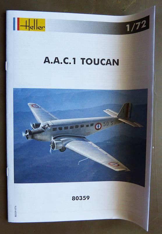 ACC 1 TOUCAN 1/72ème Réf 80359 Toucan17