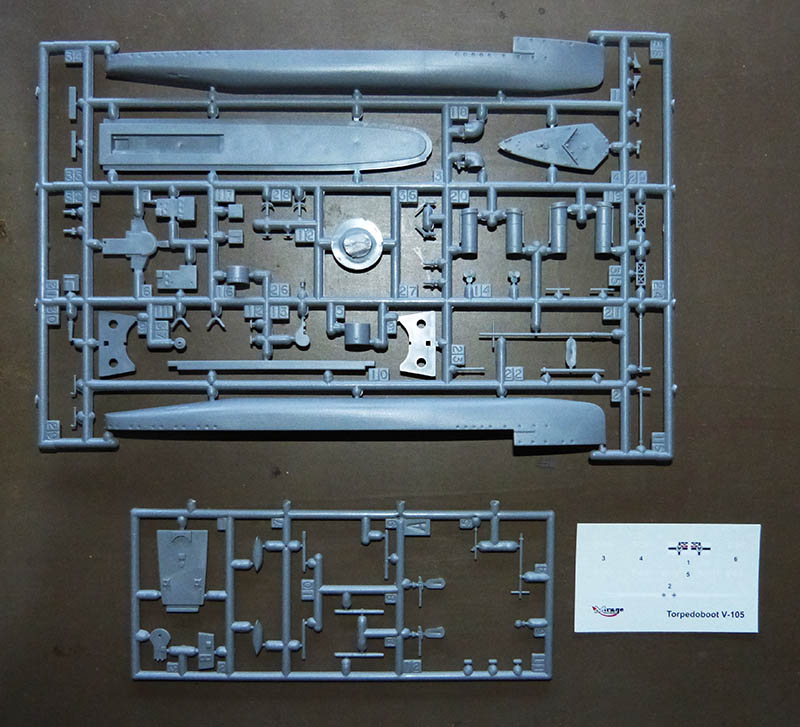 [Concours WW1]  Mirage Hobby - 1/400 - Torpilleur allemand V106. V105_010