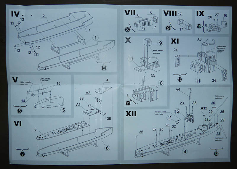 [Concours WW1]  Mirage Hobby - 1/400 - Torpilleur allemand V106. V105_014