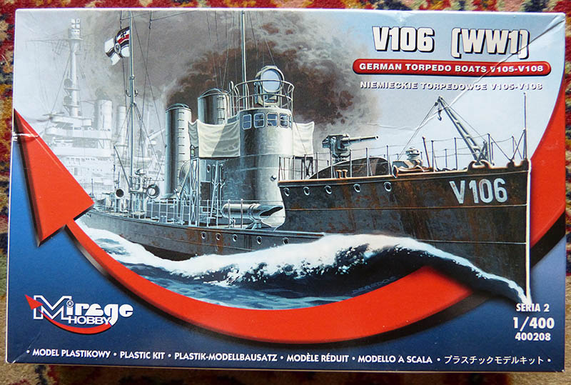 [Concours WW1]  Mirage Hobby - 1/400 - Torpilleur allemand V106. V106_011