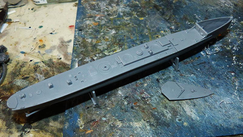[Concours WW1]  Mirage Hobby - 1/400 - Torpilleur allemand V106. V106_112