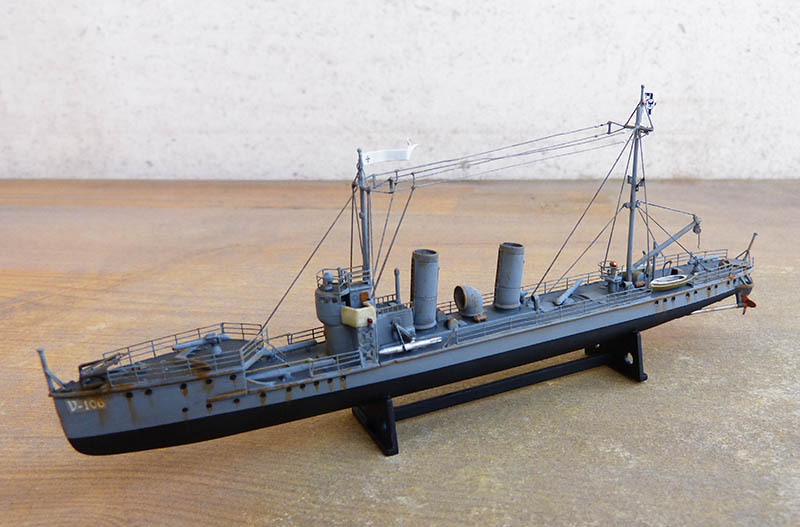 [Concours WW1]  Mirage Hobby - 1/400 - Torpilleur allemand V106. - Page 2 V106_120