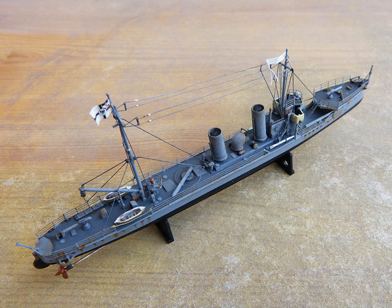 [Concours WW1]  Mirage Hobby - 1/400 - Torpilleur allemand V106. - Page 2 V106_124