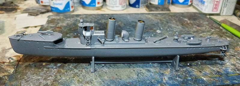[Concours WW1]  Mirage Hobby - 1/400 - Torpilleur allemand V106. - Page 2 V106_412