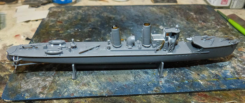 [Concours WW1]  Mirage Hobby - 1/400 - Torpilleur allemand V106. - Page 2 V106_413