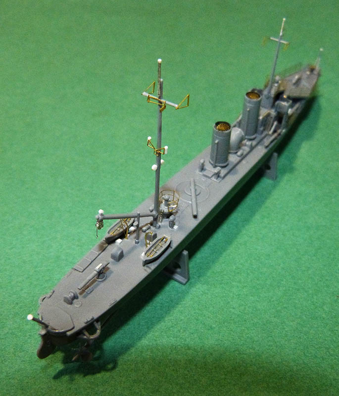 [Concours WW1]  Mirage Hobby - 1/400 - Torpilleur allemand V106. - Page 2 V106_610