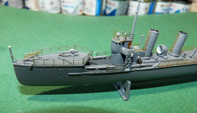 [Concours WW1]  Mirage Hobby - 1/400 - Torpilleur allemand V106. - Page 2 V106_613