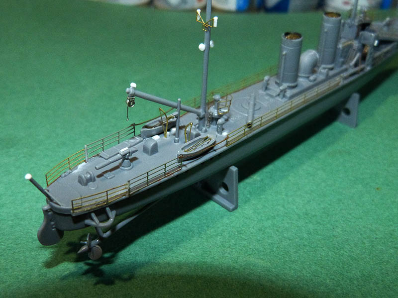 [Concours WW1]  Mirage Hobby - 1/400 - Torpilleur allemand V106. - Page 2 V106_615
