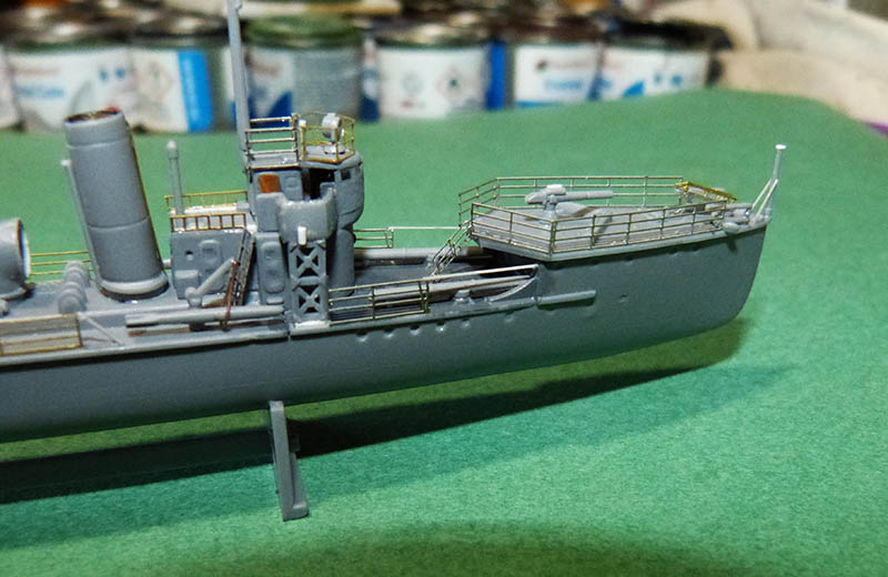 [Concours WW1]  Mirage Hobby - 1/400 - Torpilleur allemand V106. - Page 2 V106_617