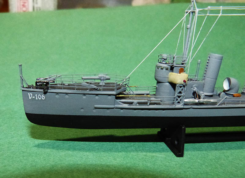 [Concours WW1]  Mirage Hobby - 1/400 - Torpilleur allemand V106. - Page 2 V106_815