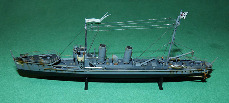 [Concours WW1]  Mirage Hobby - 1/400 - Torpilleur allemand V106. - Page 2 V106_913