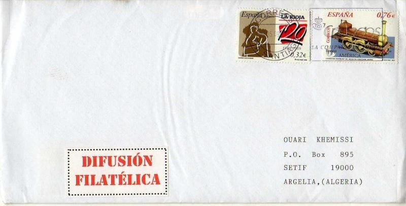 Boite aux lettres - Page 3 Espana10