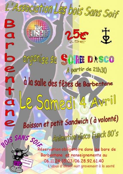 Soirée Disco le 4 Avril Barbentane 2596_510