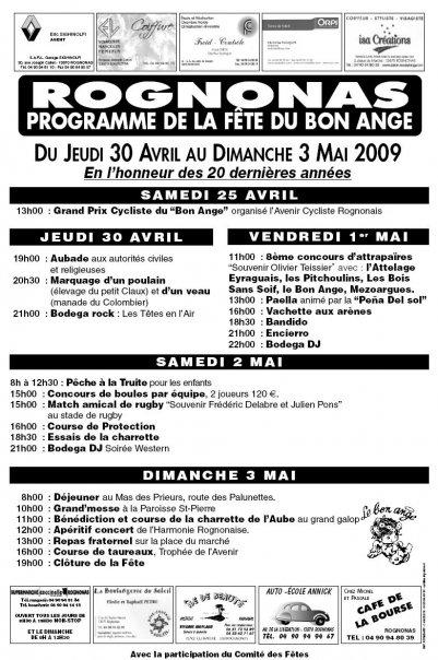 Programme de la fêtes de rognonas du 25 avril au 3 mai 2844_110