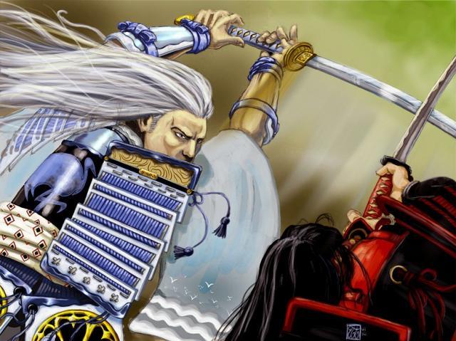 Samouraï vie code et clan. Gote_c10