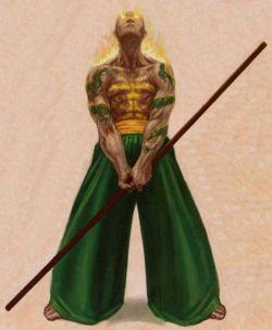 Les castes de Rokugan Moine10